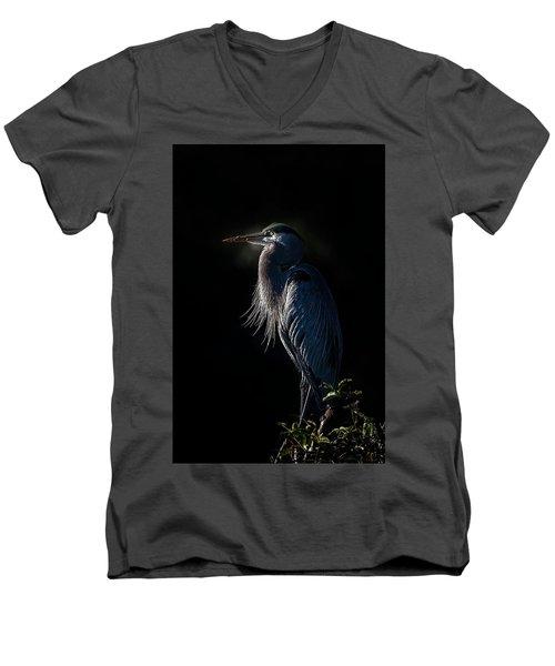 Mesmerized Men's V-Neck T-Shirt by Cyndy Doty