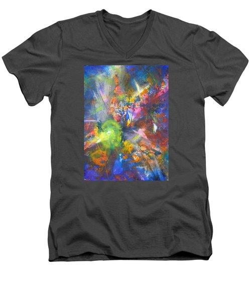 Metatronic Energies Men's V-Neck T-Shirt
