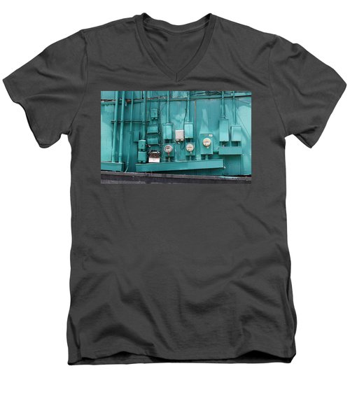 Meter Reader Men's V-Neck T-Shirt