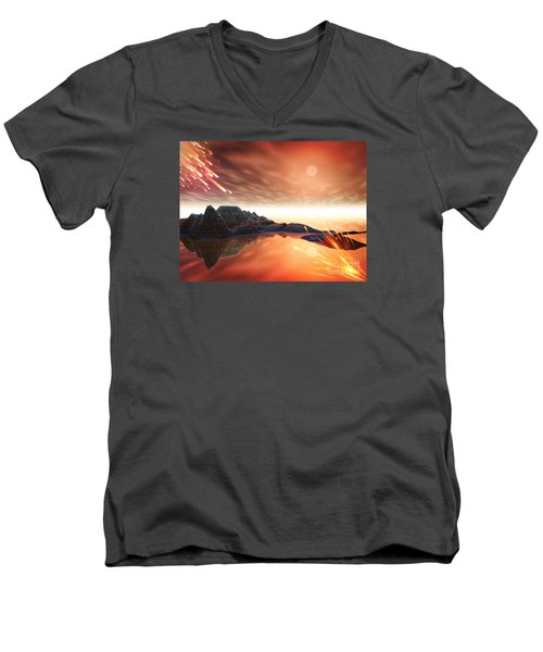 Meteroite Men's V-Neck T-Shirt