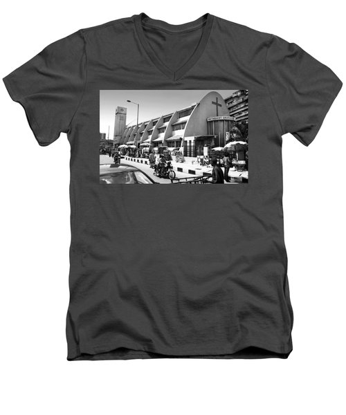 Methodist Church, Tinubu Square Men's V-Neck T-Shirt
