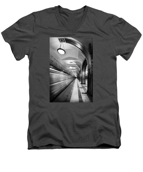 Metro #5147 Men's V-Neck T-Shirt