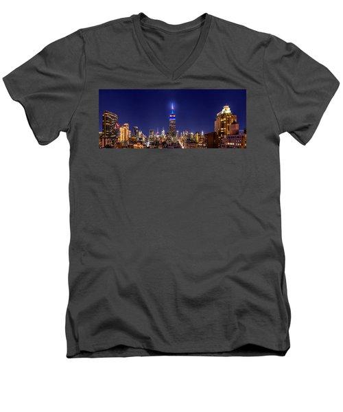 Mets Dominance Men's V-Neck T-Shirt