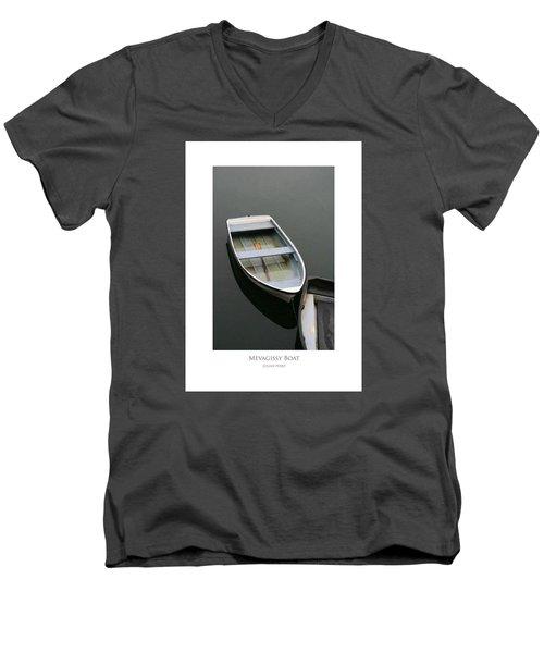 Mevagissy Boat Men's V-Neck T-Shirt