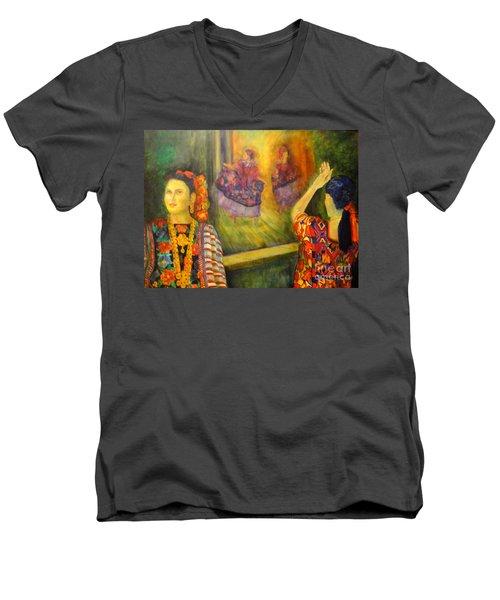 Mexican Festival Men's V-Neck T-Shirt