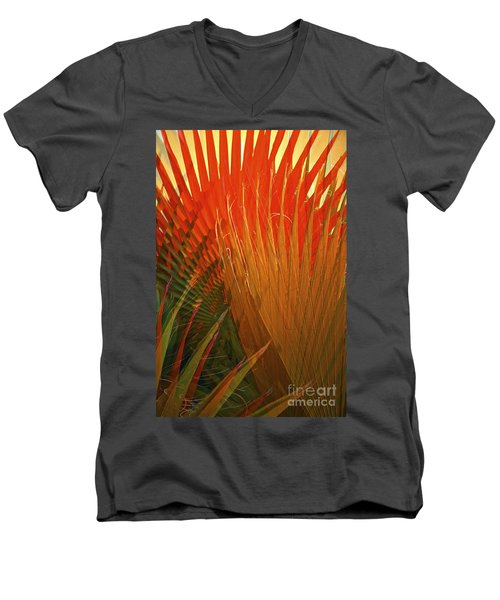 Mexican Palm Men's V-Neck T-Shirt