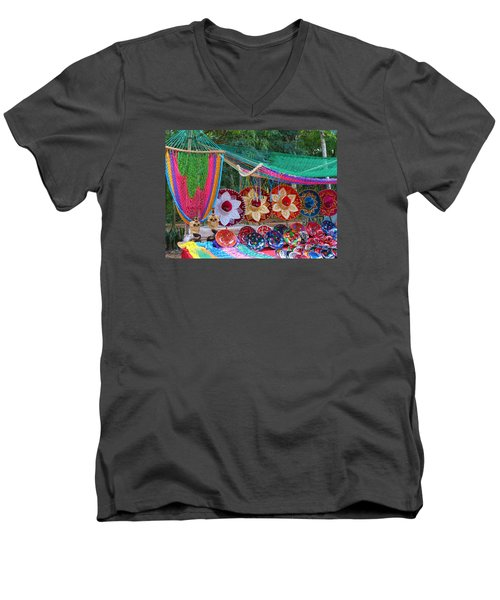 Mexico Sombrero Men's V-Neck T-Shirt