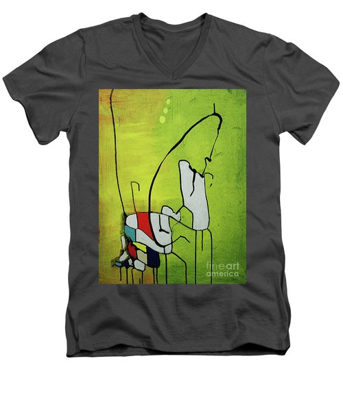 Mi Caballo Men's V-Neck T-Shirt