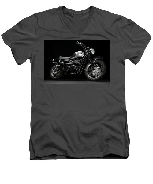 Mi3 Scrambler Men's V-Neck T-Shirt
