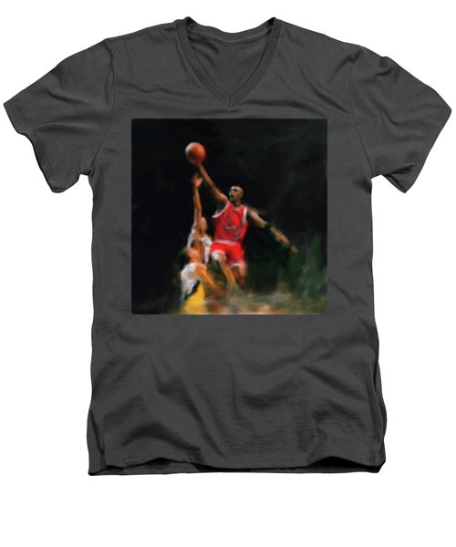 Michael Jordan 548 1 Men's V-Neck T-Shirt
