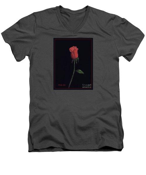 The Perfect Rose 2 Men's V-Neck T-Shirt