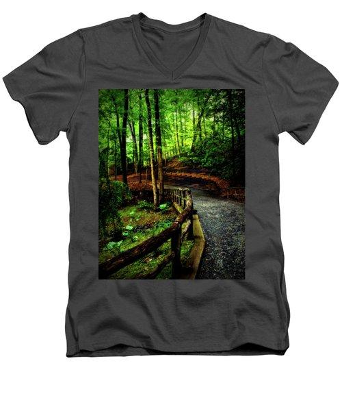 Michie Tavern No. 3 Men's V-Neck T-Shirt