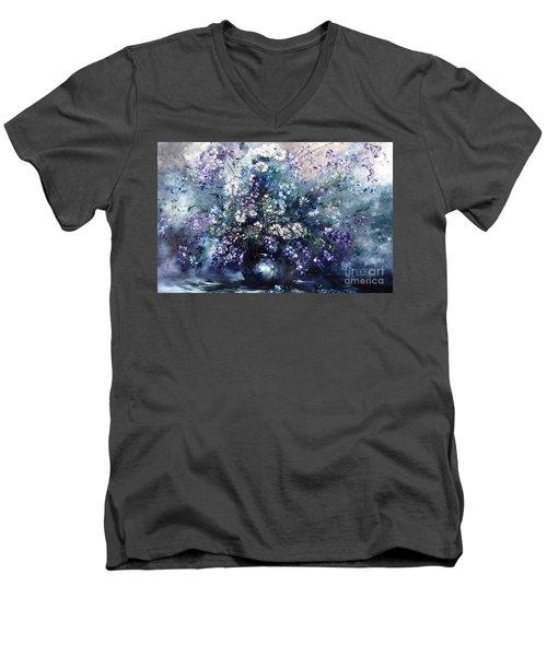Mid Spring Blooms Men's V-Neck T-Shirt