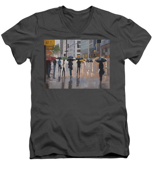 Mid Town Men's V-Neck T-Shirt