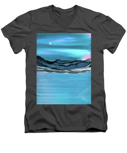 Midday Moon Men's V-Neck T-Shirt
