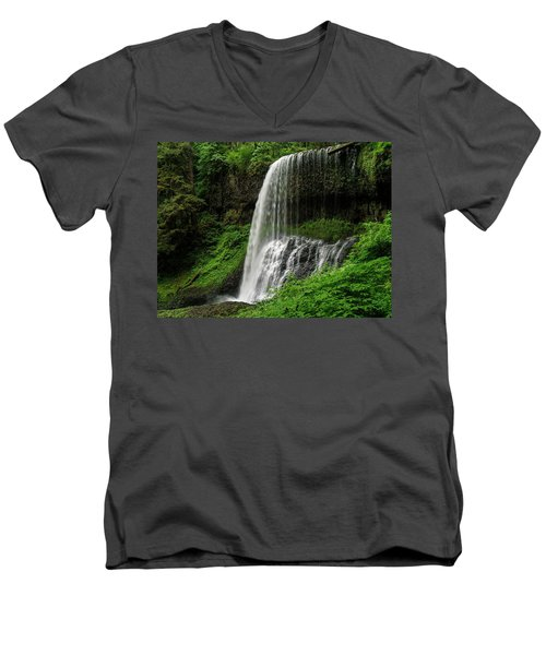 Middle Falls Men's V-Neck T-Shirt
