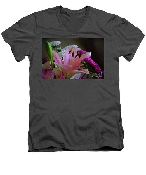 Middle Lily Men's V-Neck T-Shirt