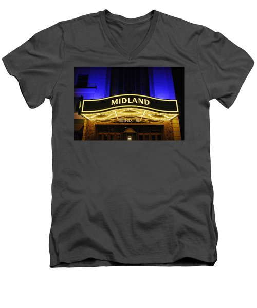 Midland Theater Men's V-Neck T-Shirt