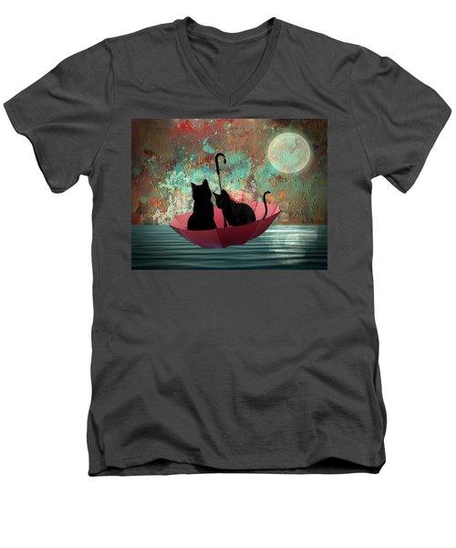 Midnight Love 2 Men's V-Neck T-Shirt