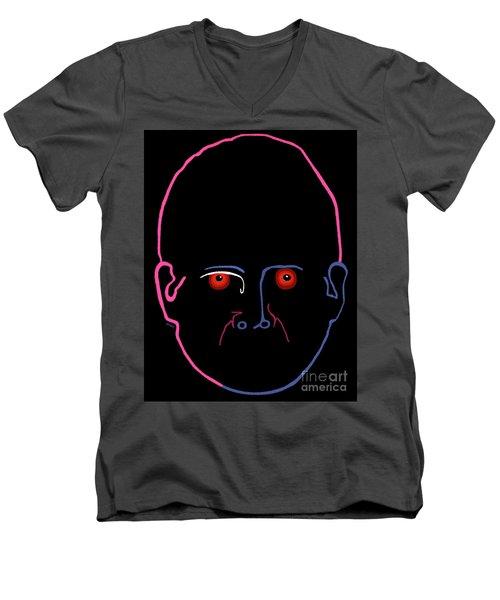 Midnight Rage Men's V-Neck T-Shirt
