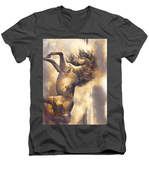 Midnight Run Men's V-Neck T-Shirt