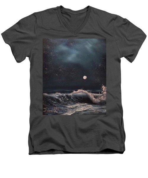 Midnight Surf  Men's V-Neck T-Shirt