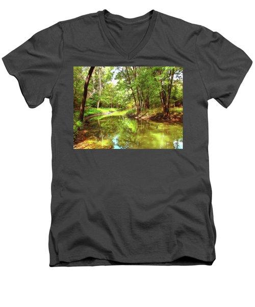 Midsummer Dream Men's V-Neck T-Shirt