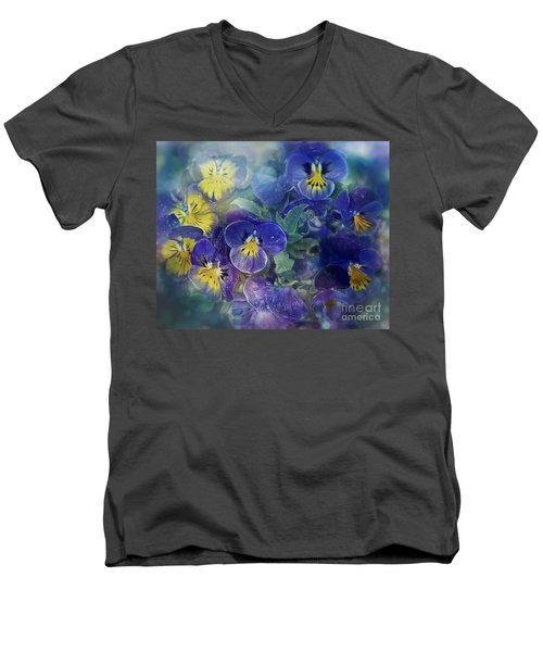 Midsummer Night's Dream Men's V-Neck T-Shirt by Agnieszka Mlicka