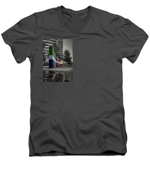 Midtown Atlanta Men's V-Neck T-Shirt