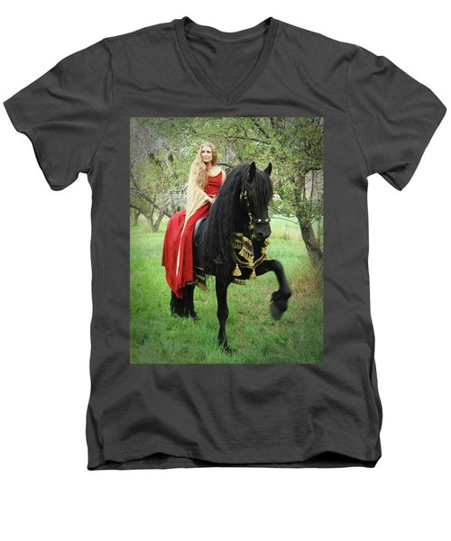 Mighty Step Men's V-Neck T-Shirt