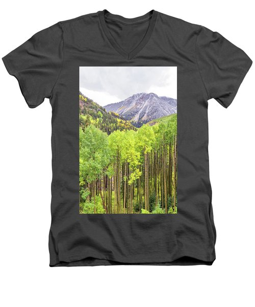 Miguel County Colorado Men's V-Neck T-Shirt