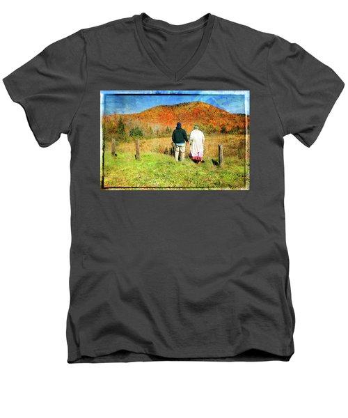 Mike And Lisa Men's V-Neck T-Shirt