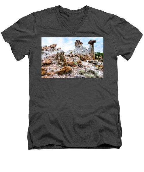Mikoshika State Park Men's V-Neck T-Shirt