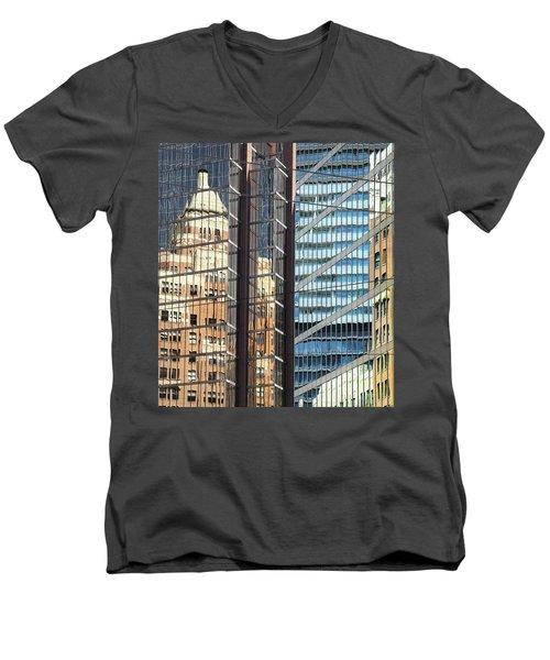 Miksang 10 Reflect Men's V-Neck T-Shirt by Theresa Tahara
