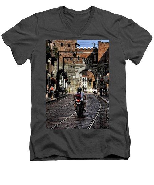 Milano Men's V-Neck T-Shirt