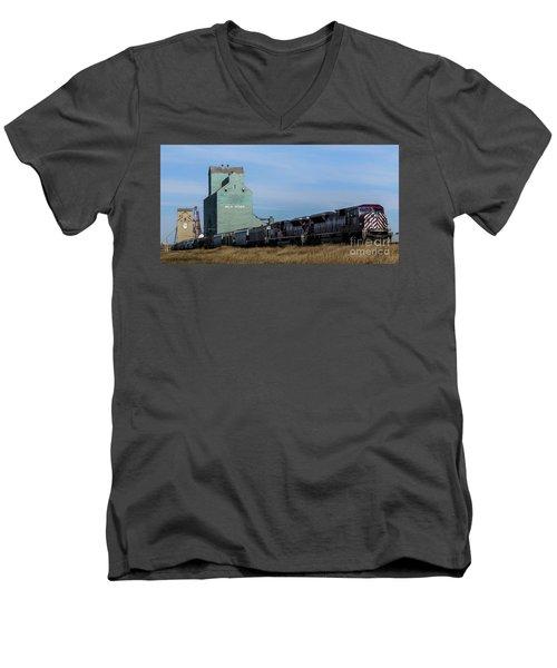 Milk River Men's V-Neck T-Shirt
