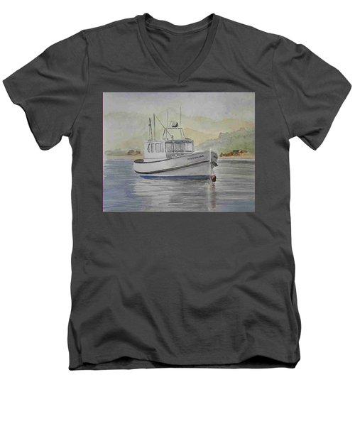 Milkshake Boat Men's V-Neck T-Shirt