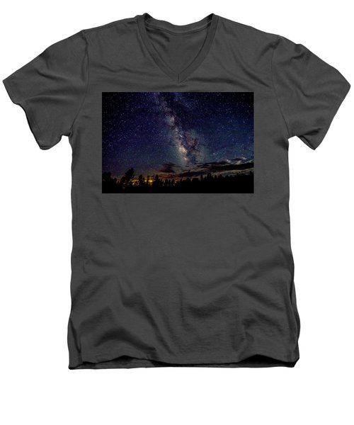 Milky Way Men's V-Neck T-Shirt