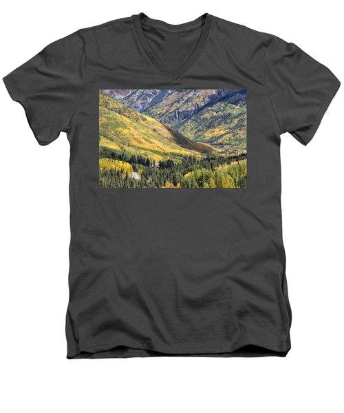 Million Dollar Highway Men's V-Neck T-Shirt