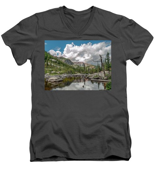 Mills Lake 5 Men's V-Neck T-Shirt