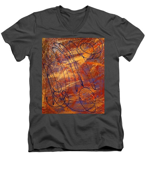 Mind Reflection  Men's V-Neck T-Shirt