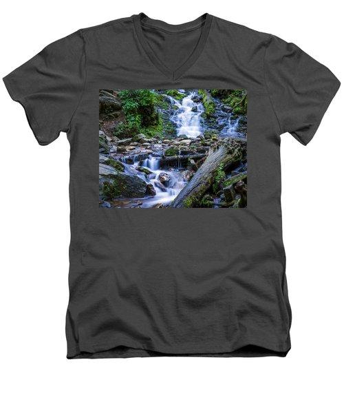 Mingo Falls Two Men's V-Neck T-Shirt