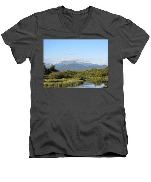 Minnekhada Park Men's V-Neck T-Shirt
