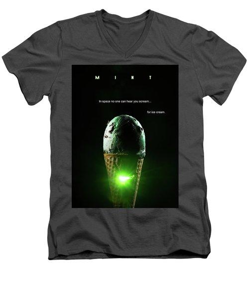 Mint Men's V-Neck T-Shirt