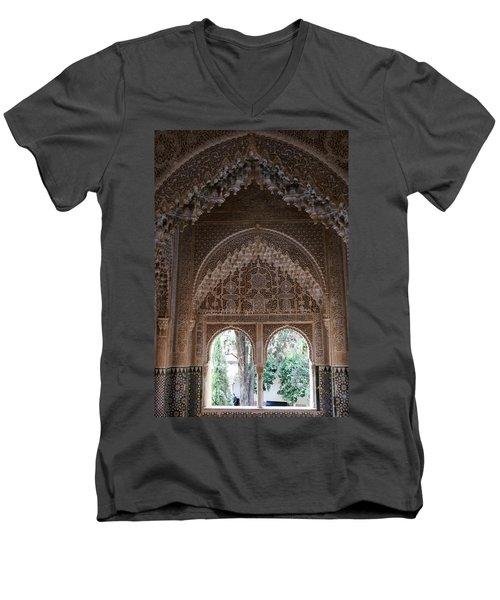 Mirador De Daraxa Men's V-Neck T-Shirt
