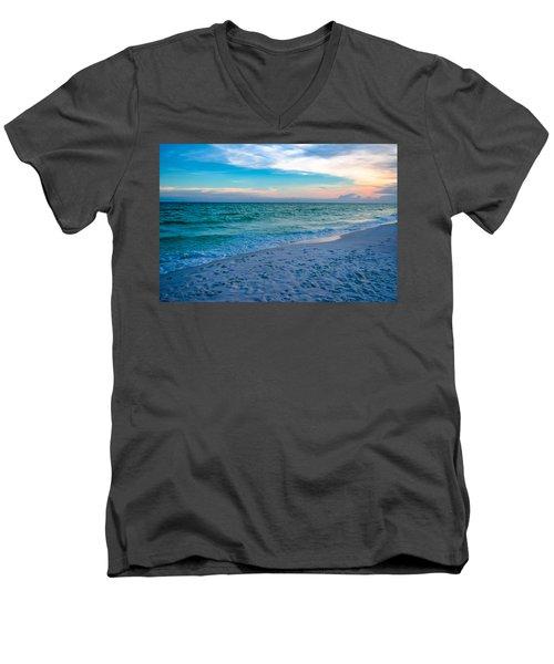 Miramar Blue  Men's V-Neck T-Shirt