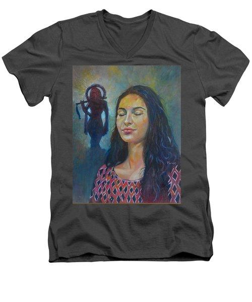 Mira's Faith Men's V-Neck T-Shirt