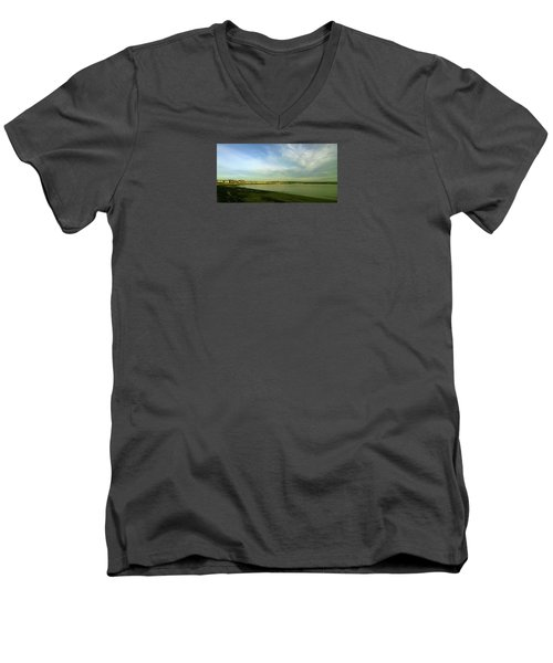 Mirror Calm Men's V-Neck T-Shirt