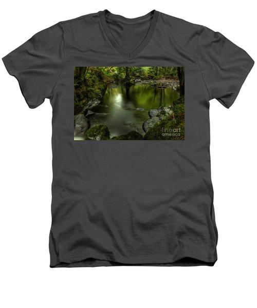 Mirror Pool Men's V-Neck T-Shirt