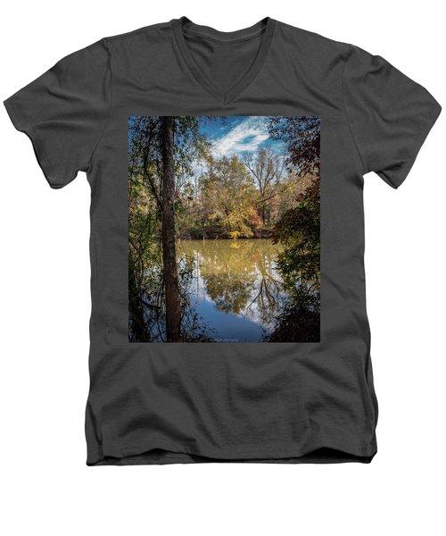 Mirror River Men's V-Neck T-Shirt